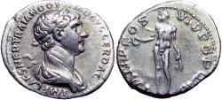 Ancient Coins - TRAJAN. 98-117 AD. AR Denarius .
