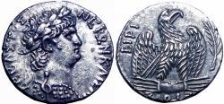 Ancient Coins - SYRIA. Seleucis and Pieria. Antioch. Nero. AD 54-68. AR Tetradrachm