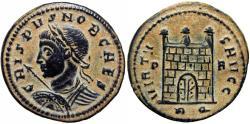 Ancient Coins - Crispus. A.D. 317-326. AE follis, Rome, Extremely rare.