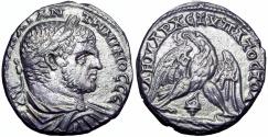 Ancient Coins - PHOENICIA, Tyre. Caracalla. AD 198-217. AR Tetradrachm.