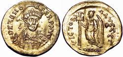 Ancient Coins - Zeno. Second reign, AD 476-491. AV Solidus