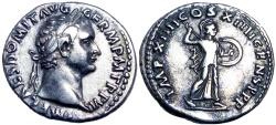 Ancient Coins - Domitian, AR denarius. AD 88.