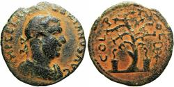Ancient Coins - Valerian I. 253-260 AD. Akko-Ptolemais Extremely Rare coin.