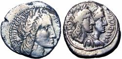 Ancient Coins - NABATAEA. Aretas IV, with Huldu and Malichus . 9 BC-AD 40. Unpublished , read notes.