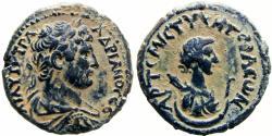 Ancient Coins - Trans Jordan, Decapolis. Gerasa. Hadrian. AD 117-138. sharp detailes stunning coin .
