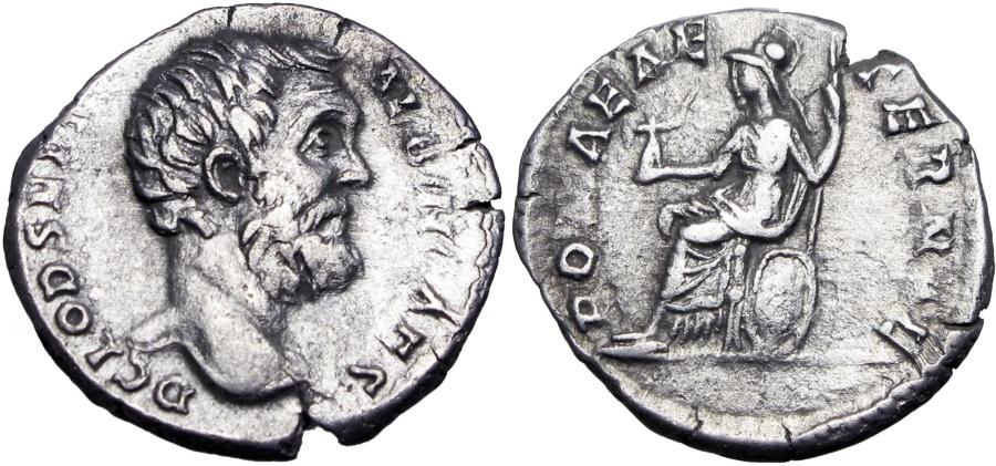 Ancient Coins - Clodius Albinus. As Caesar, AD 193-195.