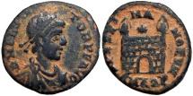 FLAVIUS VICTOR. 387-388 AD.