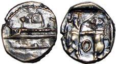 Ancient Coins - SAMARIA. 'Middle Levantine' Series. Circa 375-333 BC.