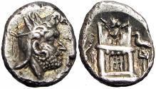 Ancient Coins - Kingdom of Persis. Uncertain king I. 2nd century B.C. AR hemidrachm