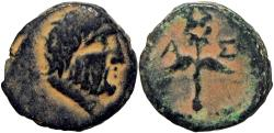 Ancient Coins - JUDAEA, Ascalon. temp. Augustus(?). 27 BC-AD 14. Rare, none in CoinArchives.
