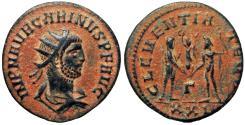 Ancient Coins - Carinus. AD 283-285. Bold coin !!!
