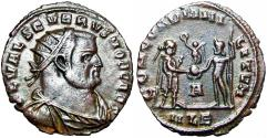 Ancient Coins - SEVERUS II - as Caesar: 305-306 A.D.