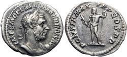 Ancient Coins - Macrinus. AD 217-218. AR Denarius