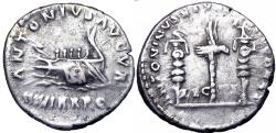 Ancient Coins - Marcus Aurelius and Lucius Verus. AD 161-169. , Commemorating the 200th Anniversary of Actium.