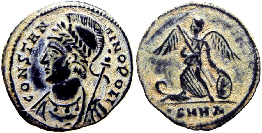 Ancient Coins - City Commemorative. A.D. 330-354.