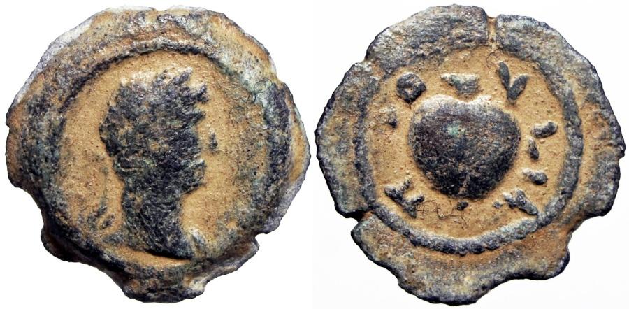 Ancient Coins - EGYPT, Alexandria. Pelusium Nome. Hadrian. 117-138 AD.