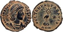 Constantius II, AE3, Antioch, 348-50 AD.