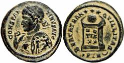 Ancient Coins - Constantine I. AD 307/310-337. Very interesting and Unique coin.