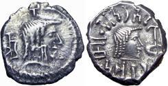 Ancient Coins - Arabia Felix, Himyarites & Sabaeans, Amdan Bayyin Yanaf, 50 - 100 AD.