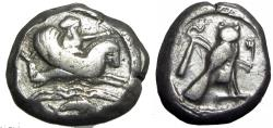 Ancient Coins - PHOENICIA, Tyre. Uncertain king. Circa 393-358 BC.