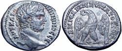 Ancient Coins - Caracalla AR Tetradrachm of Tyre, Phoenicia. AD 208-212.