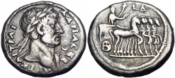 Ancient Coins - EGYPT, Alexandria. Hadrian. AD 117-138. Great silver metal , superb for type.