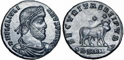 Ancient Coins - ROMAN EMPIRE. Julian II (AD 360-363).  a stunning example !!!!