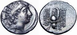 Ancient Coins - SELEUKID EMPIRE. Antiochos VI Dionysos. 144-142 BC.