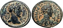 Ancient Coins - Commodus. AD 177-192. Capitolias in Decapolis, CY 93 (AD 189/90).