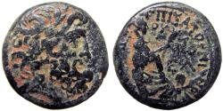 Ancient Coins - SYRIA, Seleucis and Pieria. Antioch. Augustus. 27 BC-AD 14.