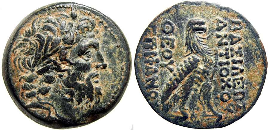 Ancient Coins - SELEUKID KINGS of SYRIA. Antiochos IV Epiphanes. 175-164 BC.