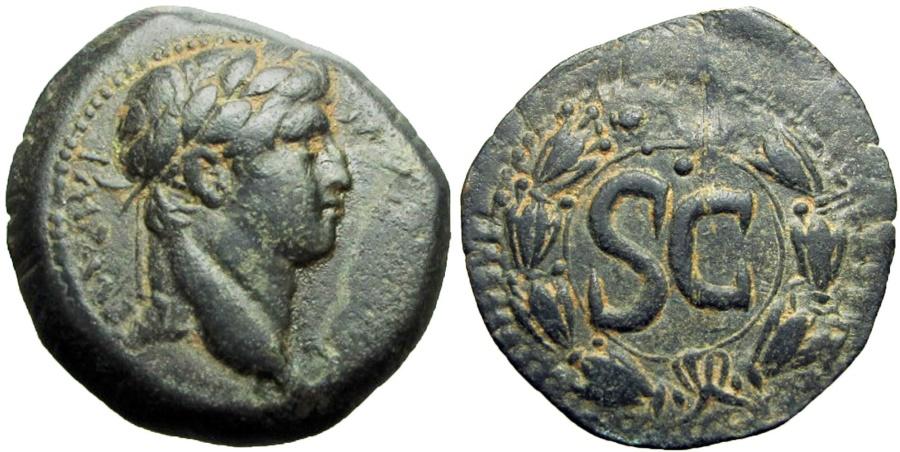 Ancient Coins -  SYRIA, Seleucis and Pieria. Antioch. Otho. AD 69. Rare.