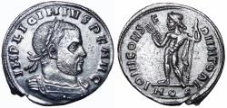 Ancient Coins - Licinius I, AE Follis, 317 AD.