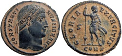 Ancient Coins - Constantine I. AD 307/310-337. Choice and bold portrait !!!!