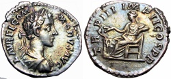 Ancient Coins - Commodus (AD 177-192). A brilliant piece with deep toning !!