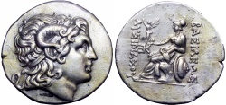 Ancient Coins - KINGS of THRACE, Macedonian. Lysimachos. 305-281 BC. Stunning ,attractively toned. Well centered on a round flan. Unique and unpublished.
