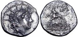 Ancient Coins - SELEUKID KINGS of SYRIA. Antiochos VI Dionysos. 144-142 BC. very rare.