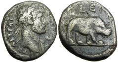 Ancient Coins - adrian BI Tetradrachm of Alexandria, Egypt.