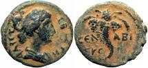 Ancient Coins -  BIBLICAL, Decapolis. Abila. Faustina Junior. Augusta, AD 147-175.