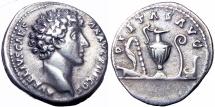 Ancient Coins - Marcus Aurelius . As Caesar, AD 139-161.