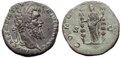Ancient Coins - Didius Julianus Æ Sestertius. Rome, AD 193.
