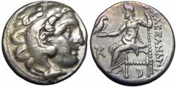 "Ancient Coins - Kings of Macedon . Alexander III. ""The Great"" (336-323 BC)."
