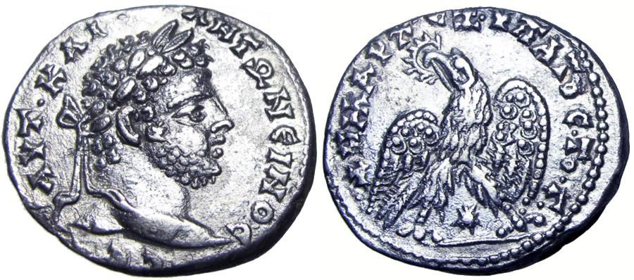 Ancient Coins - SYRIA, Seleucis and Pieria. Laodicea ad Mare. Caracalla. AD 198-217. Very rare.