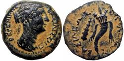 Ancient Coins - Berenike II, wife of Ptolemy III,  246-221 BC. Extremely rare and stuning example.