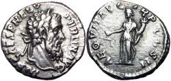 Ancient Coins - Pertinax. AD 193.
