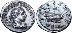 Ancient Coins - Elagabalus. AD 218-222. AR Denarius , stunning details !