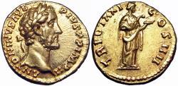 Ancient Coins - Antoninus Pius (AD 138-161). AV aureus.