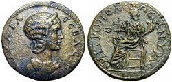 Ancient Coins - Julia Domna , 193- 211 A.D., Ancyra (Ankura) , Phrygia. probably unpublished.