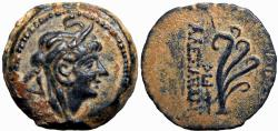 Ancient Coins - SELEUKID KINGS of SYRIA. Alexander II Zabinas. 128-122 BC. Rare and stunning example !