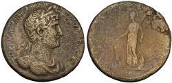 Ancient Coins - HADRIANUS, 117-138 ; Sestertius
